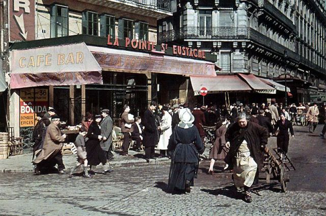 Andre Zucca: Nazi Propaganda Photos - Paris during WW232