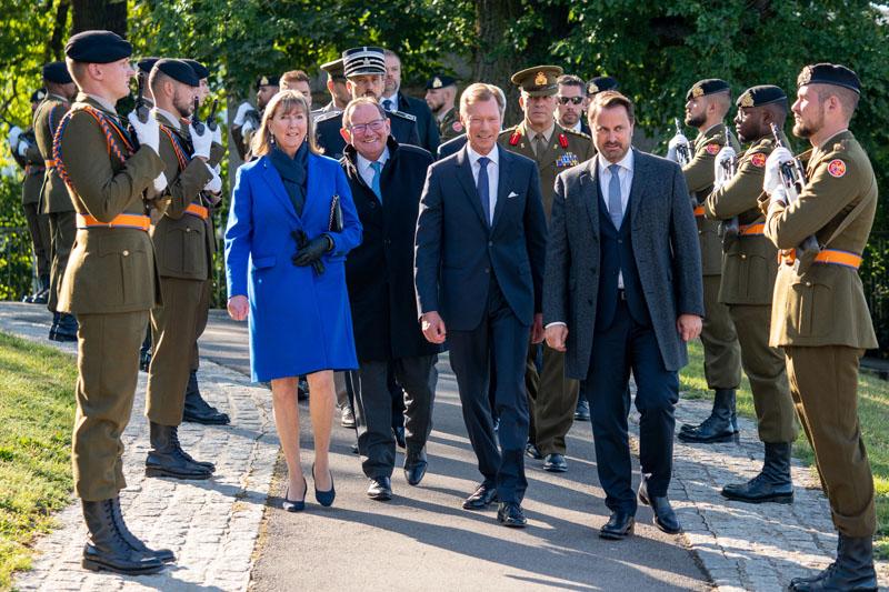 75e anniversaire de la libération de la Ville de Luxembourg