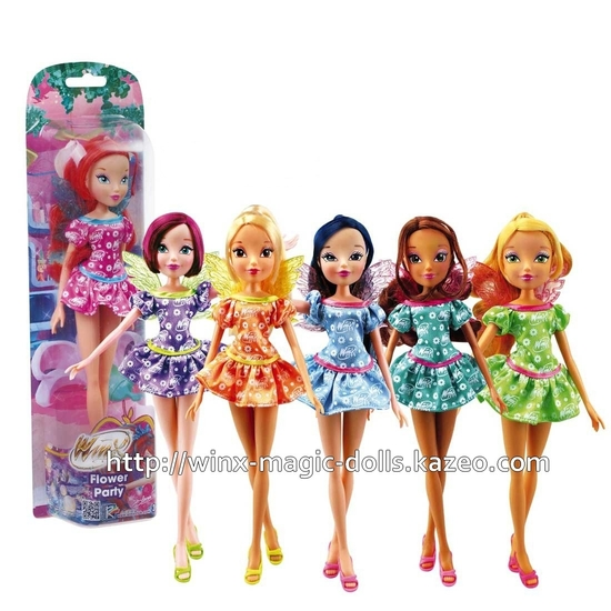 Winx Flower party