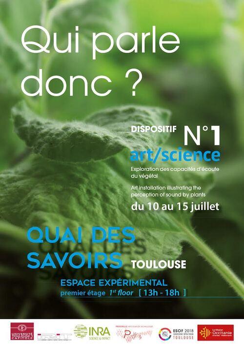 """10 au 15 Juillet - Exposition """"Qui parle donc?"""" - Quai des savoirs (Toulouse)"""