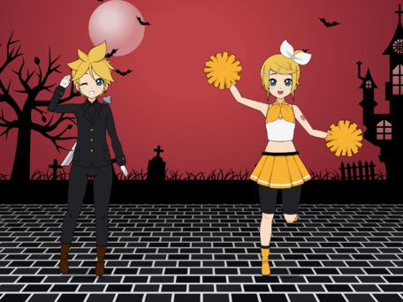 Vocaloid: Rin et Len Cheerful
