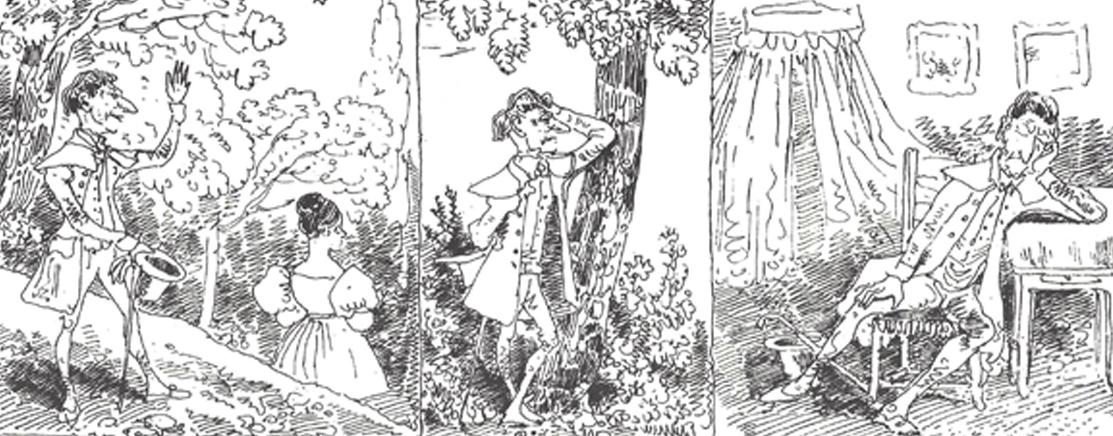 Les Amours de monsieur Vieux Bois, Rodolphe Töpffer, 1837.