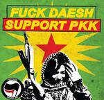 Fuck Daech, support PKK