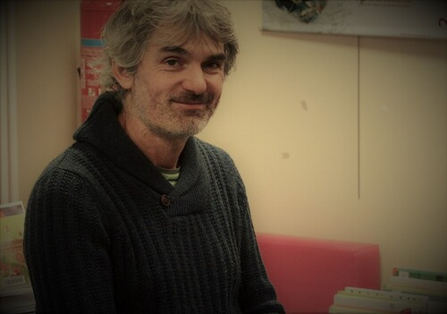Rencontre avec Alex COUSSEAU écrivain finistérien