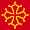 Drapeau Occitan de Midi-Pyrénées