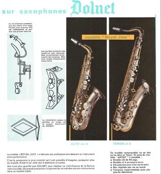 Dolnet:  trésors inconnus du monde du sax*?