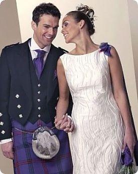 Un mariage à l'écossaise