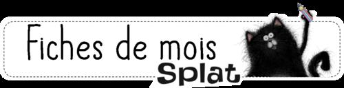 Fiches de mois Splat