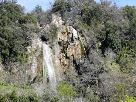 La cascade sur la Cassole