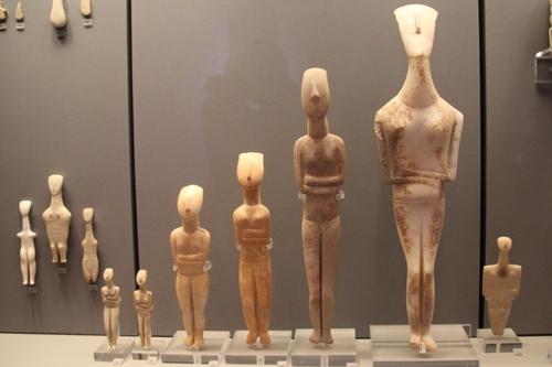Musée archéologique d'Athènes : la civilisation cycladique