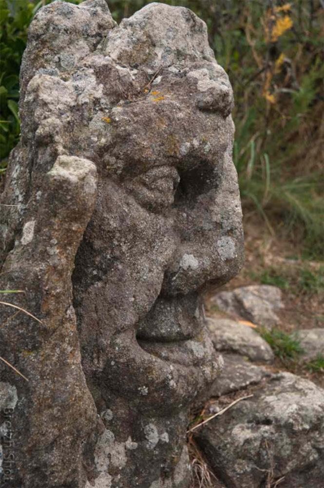 Rothéneuf - Abbé Fouré - sculptures