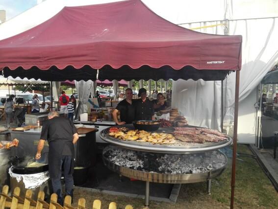Le barbecue galicien à Lorient