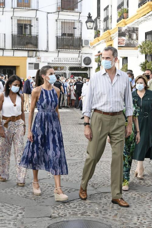 Felipe et Letizia visitent Seville et Cordoba