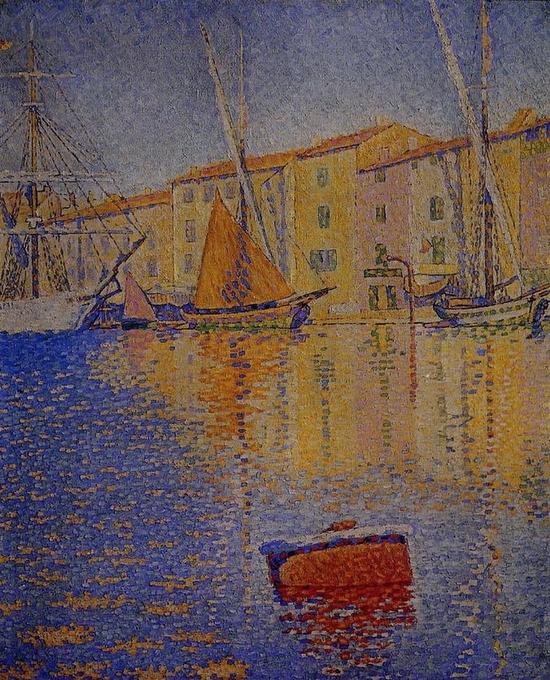 Paul Signac, La bouée rouge