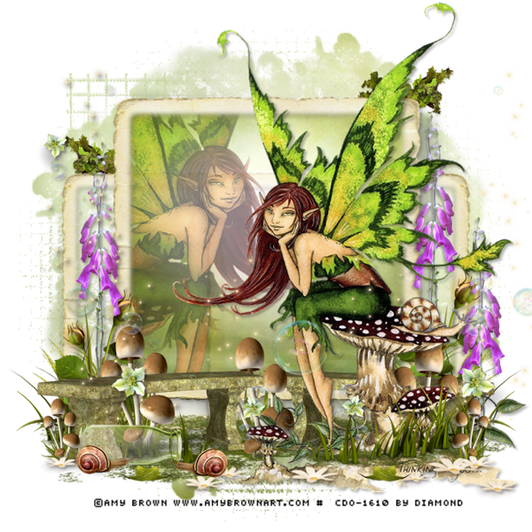 "Tutoriel ""Faerie Land"" chez Tagalicious Tags and Tuts"