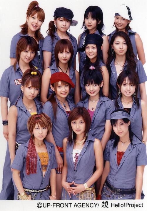Go Girl ~Koi no Victory~ Morning Musume 2003