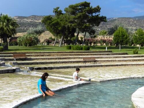 TURQUIE Pamukkale, site historique