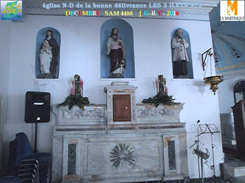 Eglise  3/3   Notre Dame de la délivrance  LES TROIS ILETS  972               D  29/06/2018