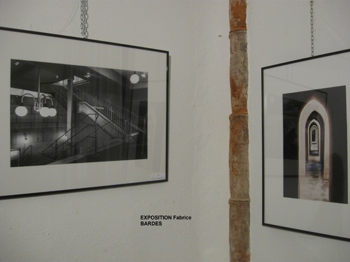 """Exposition photos """"lignes et courbes"""" de Fabrice BARDES"""
