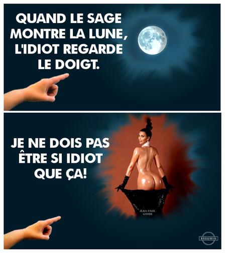 L'idiot et la Lune