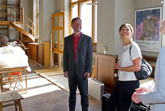 Victoria au musée