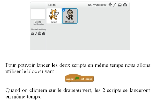 Scratch : animer 2 personnages