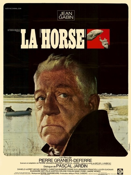 LA HORSE - BOX OFFICE JEAN GABIN 1970