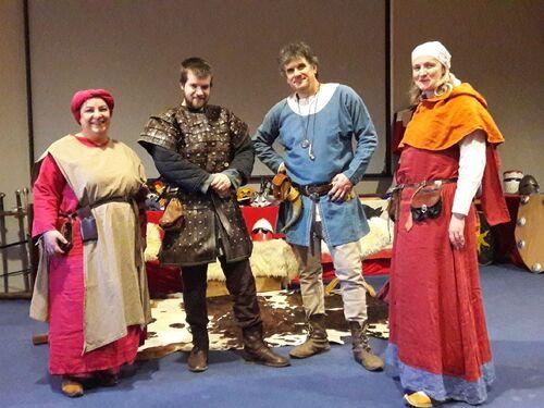 Retour au Moyen age ..au Collège de Gardanne