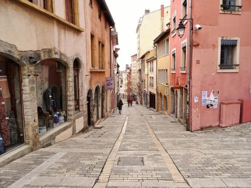 Lyon: La Croix Rousse (photos)
