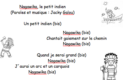 Nagawika un petit indien