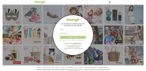 Limango, le nouveau site shopping en France