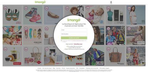 Limango, le nouveau site shopping en France