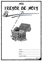 Pages de garde cahier trésor de mots