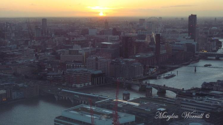 Londres : Crépuscule