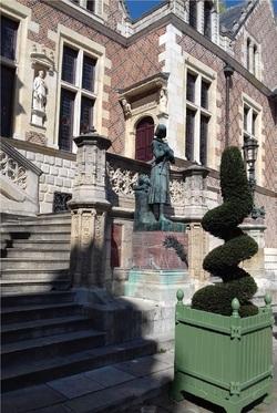 ORLEANS - hôtel Groslot & Art Show