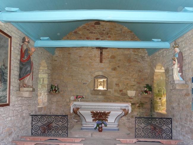 Chapelle Saint Pierre Loperhet - Morbihan
