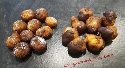 Minis beignets