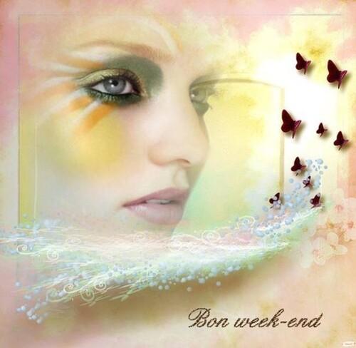 Je vous souhaite un bon week-end mes ami(e)s
