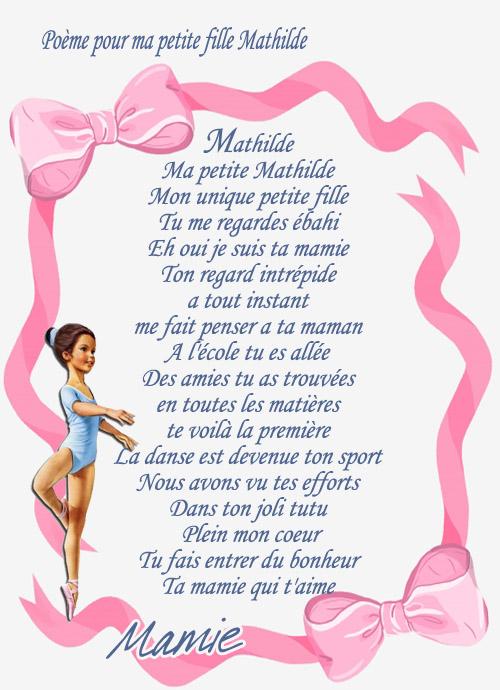 Envoi de Soizette - poème pour son petit fils - en partage