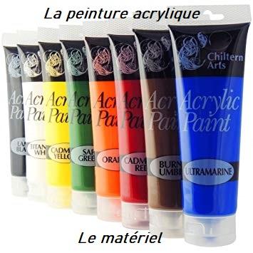 Dessin et peinture - vidéo 2950 : Comment bien débuter à la peinture acrylique ? Le matériel.