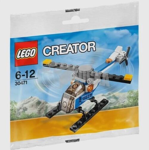 LEGO CREATOR - Mini hélicoptère (47 pièces)