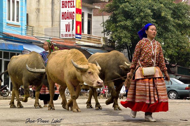 Quelques images du marche de Bac Ha