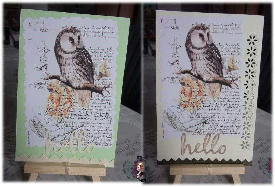 """Cartes Postales """"Hello"""""""