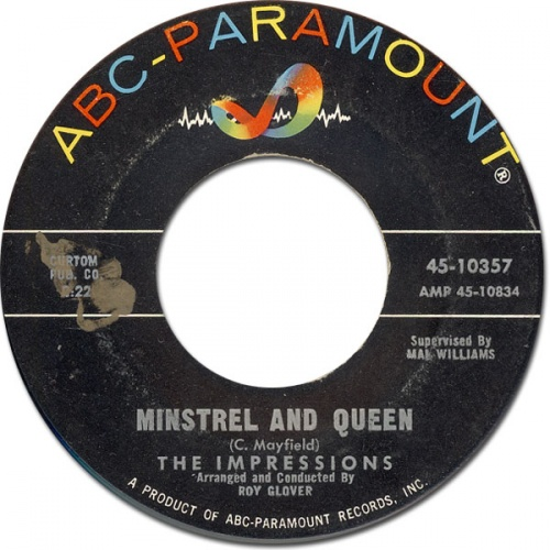 1962 : Single SP ABC Paramount Records 10357 [ US ]