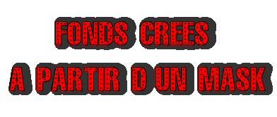 Fonds Mask - Série 1