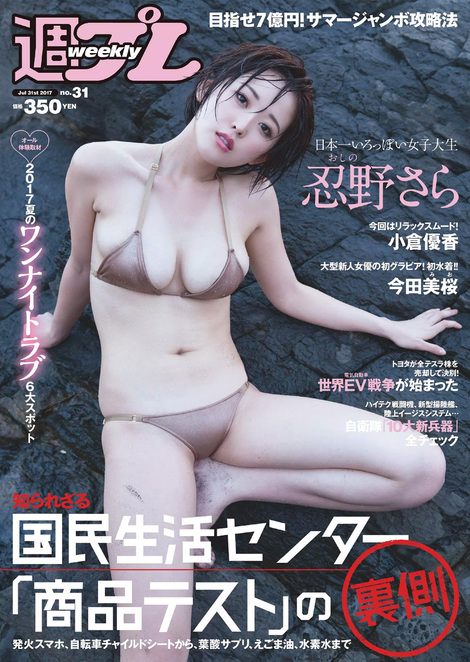 Magazine : ( [Weekly Playboy] - 2017 / n°31 )