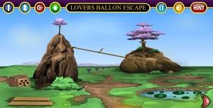 Jouer à Lovers balloon escape