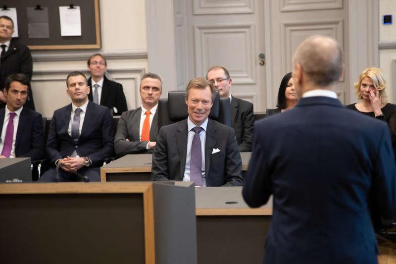 Visite des autorités judiciaires