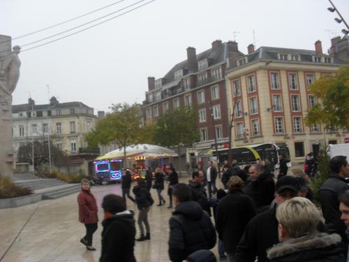 Balade au marché de noël d' Amiens