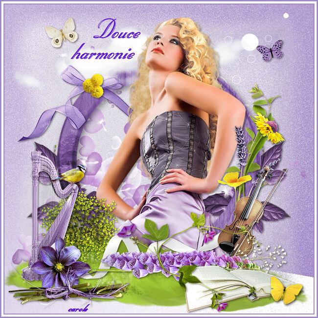 """Vos créations """"douce harmonie"""""""